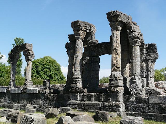 martand sun temple kashmir