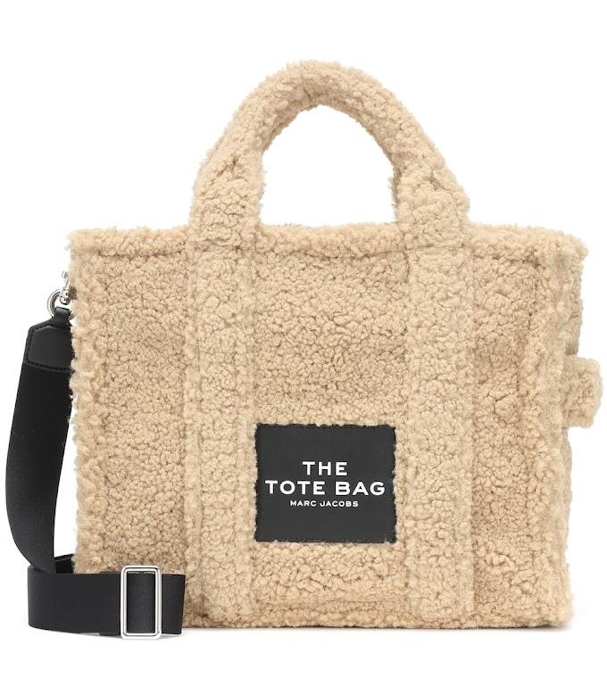 El bolso de borreguito Tote Bag de Marc Jacobs