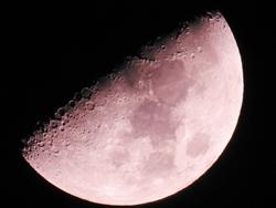 Zunehmender Mond...