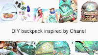 DIY, Chanel, DIY chanel, fashion diy, diyblog, diyblogger, backpack, diy backpack chanel, fai da te zaino chanel, themorasmoothie, fashionblog, fashionblogger, fashion, tutorial, tutorial zaino, craft, crafts, diyproject, diycraft