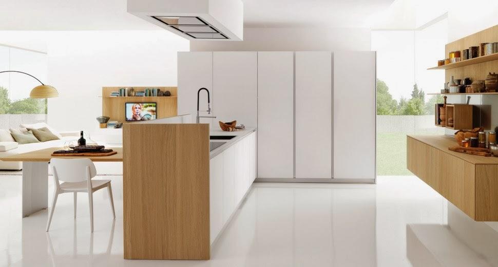 Cocinas con superficies de trabajo ocultas cocinas con - Cocinas ocultas ...