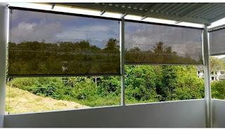 Proyek Suntex Blind untuk balkon jemuran
