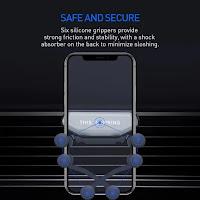 Safe car mobile holder