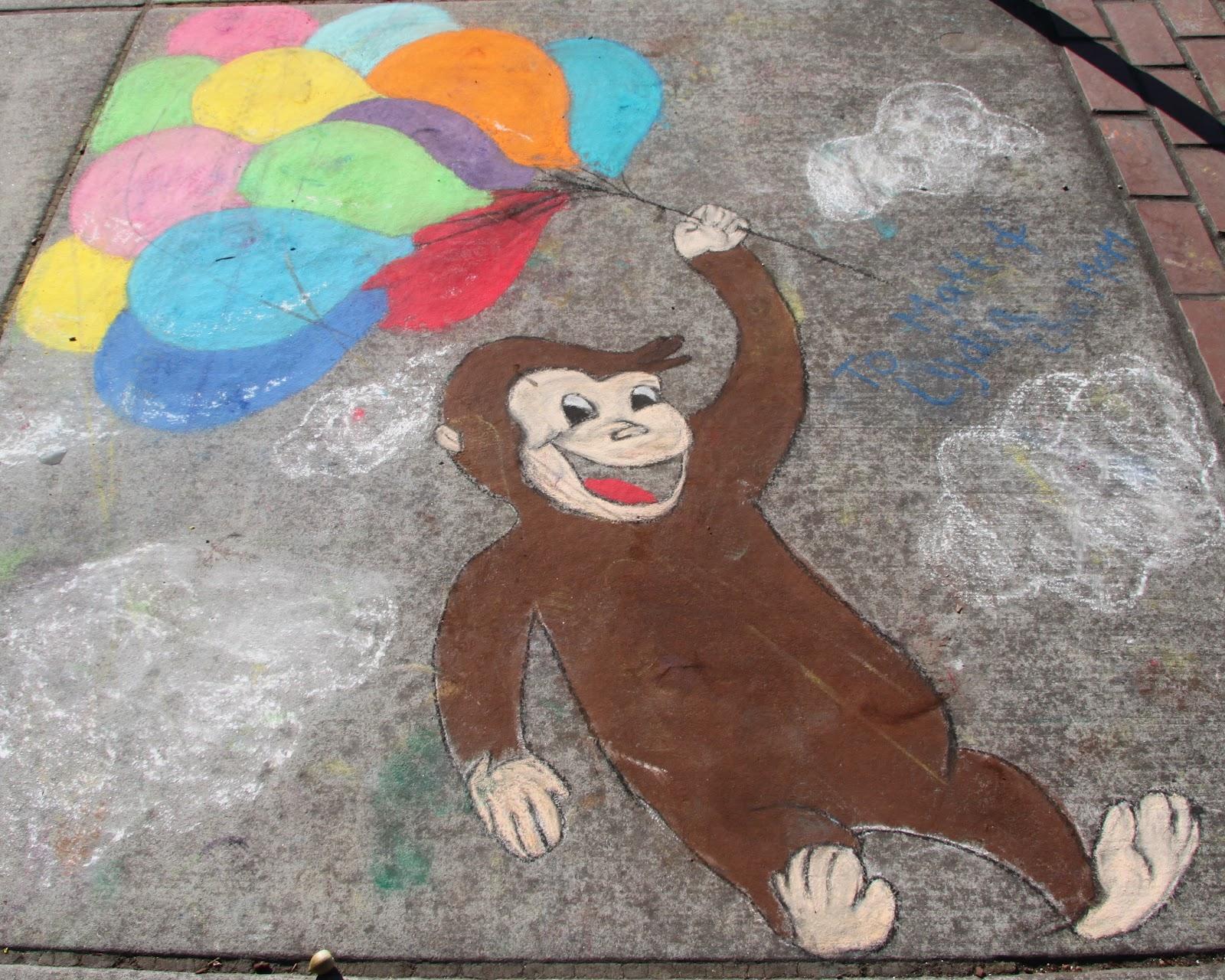 Was This Really A Sharp Idea Sidewalk Chalk Art Festival
