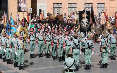 Mena solicita la medalla de la ciudad de Málaga al Ayuntamiento para La Legión