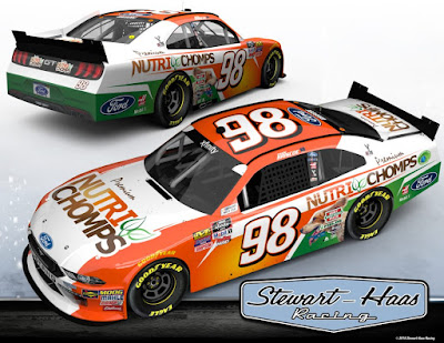 Nutri Chomps Backing Chase Briscoe for Start of 2019 #NASCAR Xfinity Series Season