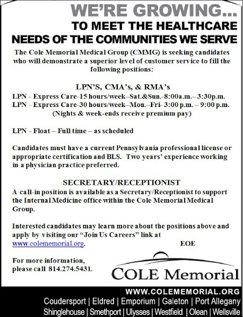 www.colememorial.org