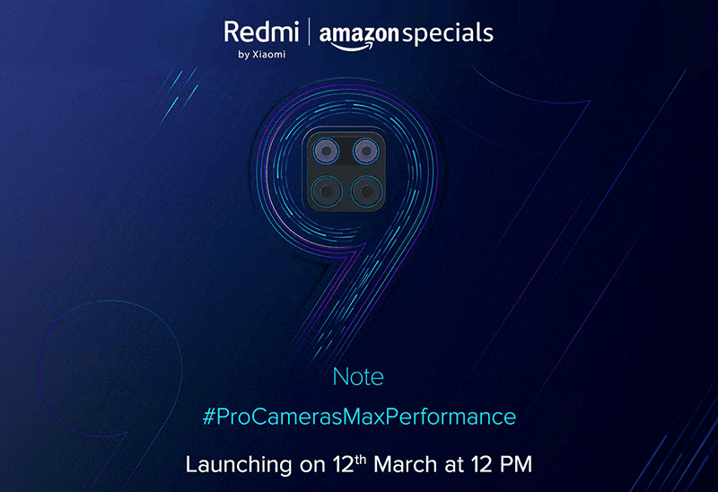 Xiaomi teases Redmi Note 9 series, to go official on March 12!