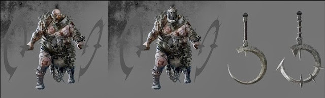 Hardest Enemy Concept Art scariest monster