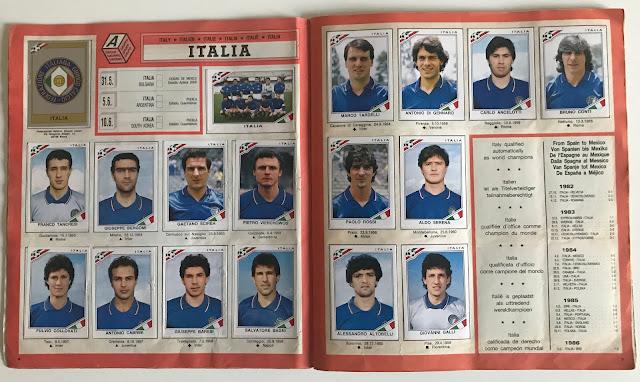 Figurine Italia Messico 86