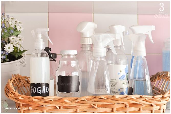 misturinha para limpar fogão