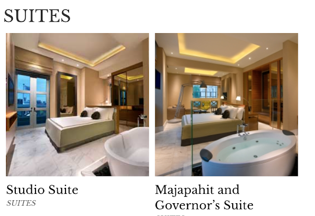 suites available in fort canning hotel