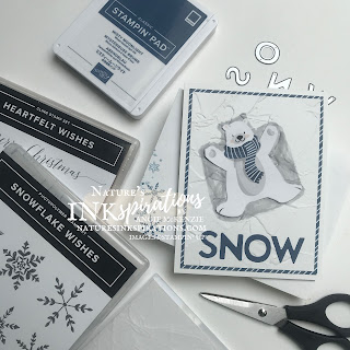By Angie McKenzie for Crafty Collaborations Share it Sunday Blog Hop; Click READ or VISIT to go to my blog for details! Featuring the Penguin Playmates SAB DSP (SNEAK PEEK!) with the Artistically Inked, Snowflake Wishes, Snowman Season and Heartfelt Wishes (SNEAK PEEK!) Stamp Sets along with So Many Snowflakes Dies, Playful Alphabet Dies and Painted Texture 3D Embossing Folder by Stampin' Up!; #christmascards #shakercard #polarbearsnowangel #funwithdesignerseriespaper #stamping #shareitsunday #shareitsundaybloghop #somanysnowflakes #snowflakewishes #snowmanseason #heartfeltwishes #artisticallyinked #playfulalphabet #fussycutting #20212022annualcatalog #2ndsaleabration2021 #naturesinkspirations #makingotherssmileonecreationatatime #cardtechniques #stampinup #stampinupink #handmadecards #papercrafts
