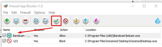 Cara Unblock Firewall menggunakan Firewall App Blocker