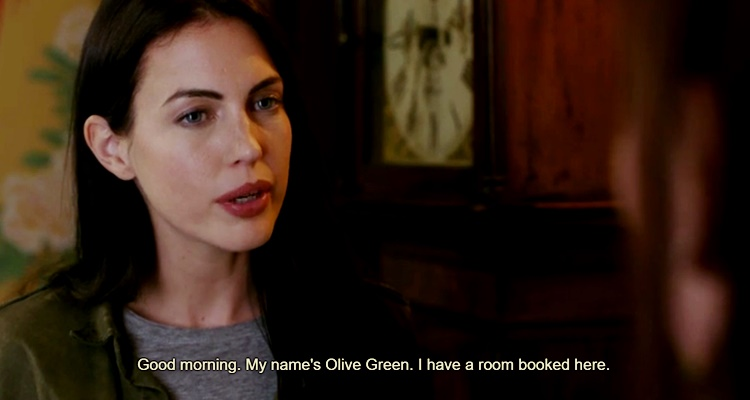 film olive green scena