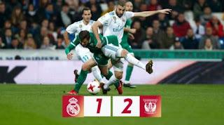Real Madrid vs Leganes 1-2 Highlights Copa del Rey