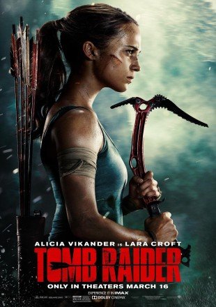 Tomb Raider 2018 HDRip Dual Audio || 1080p || 720p || 480p [Hindi-English]