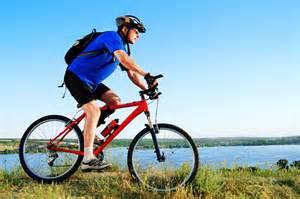 gambar bersepeda untuk menggikan badan