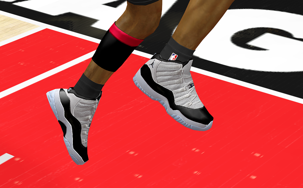 NBA 2K14 AJ XI Concord Shoes Patch