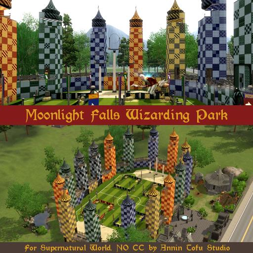 Sims Tofu Studio: Moonlight Falls Wizarding Park