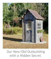Our New-Old Outbuilding with a Hidden Secret