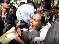 Subhanallah...Ibu Negara Turki Temui Pengungsi Muslim Rohingya, Tangisan Pecah di Sambut Warga Rohingya
