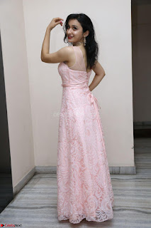 Sakshi Kakkar in beautiful light pink gown at Idem Deyyam music launch ~ Celebrities Exclusive Galleries