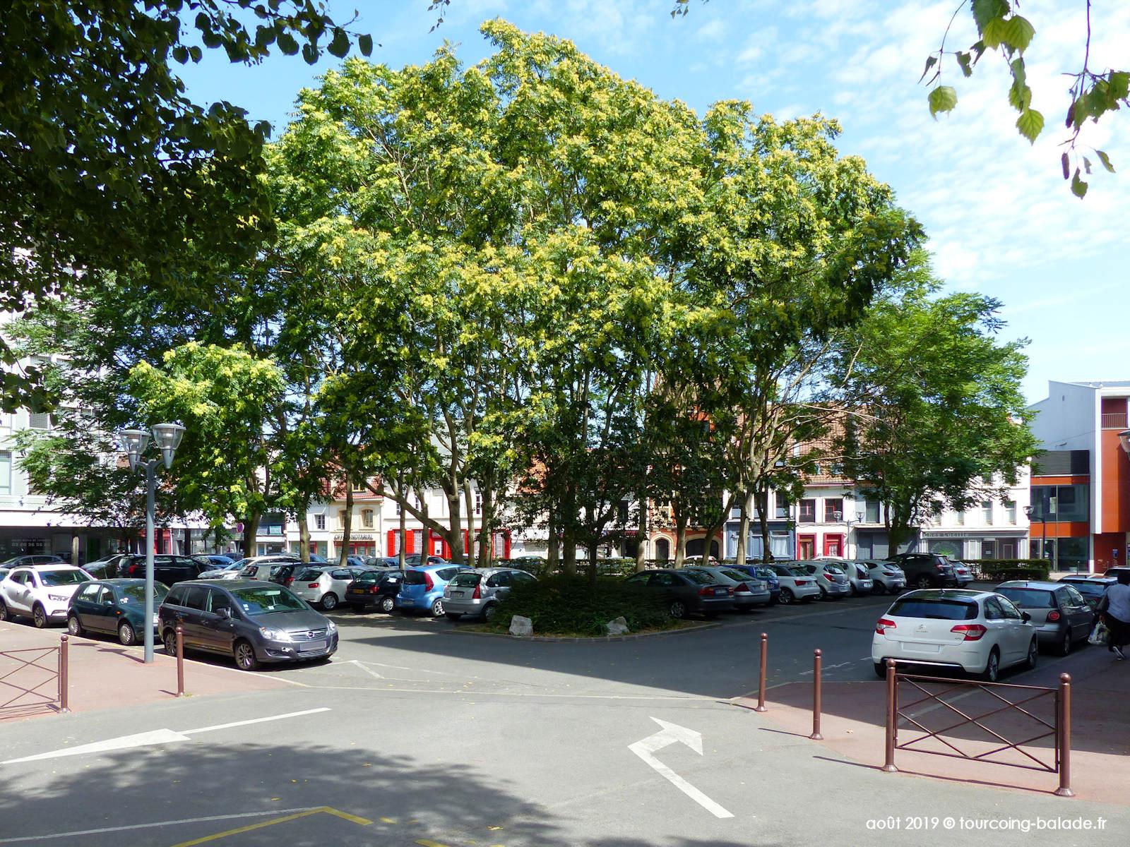 Parkings Tourcoing - Tournai de Gaulle, 2019