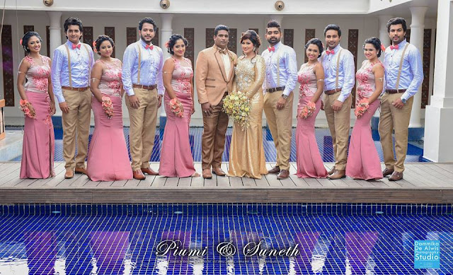 Piumi Botheju 1st Wedding Anniversary