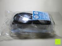 Verpackung: »Octopus« Schwimmbrille, 100% UV-Schutz + Antibeschlag + 180° View. Starkes Silikonband + Schnellverschluss + stabile Box. TOP-MARKEN-QUALITÄT! AF-2800 schwarz
