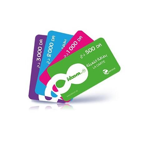 تعرف على مدة صلاحية بطاقات التعبئة IDOOM الخاصة بإتصالات الجزائر