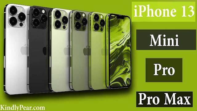 جميع إصدارات iPhone 13 مع مواصفاتهم و هذا ثمن كل واحد فيهم