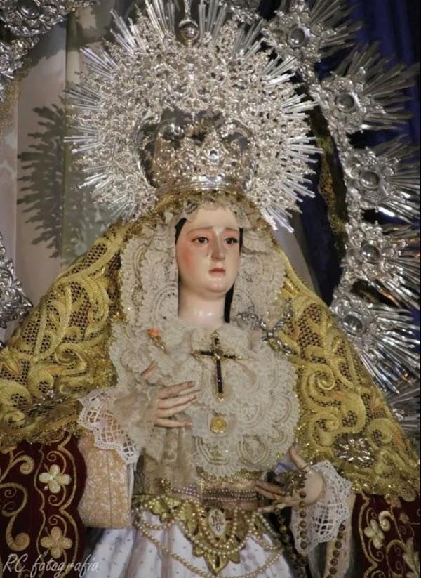 Horario e Itinerario Procesión Virgen del Rayo. Córdoba 18 de Septiembre del 2021