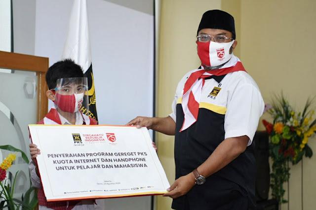 Cara PKS Memberikan Kode Keras ke Rezim Jokowi, Soal Pelajar yang Kesulitan Internet