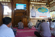 Personel Polres Purbalingga Ikuti Peringatan Nuzulul Qur'an Secara Virtual