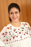 Lavanya Tripathi in Summer Style Spicy Short White Dress at her Interview  Exclusive 195.JPG