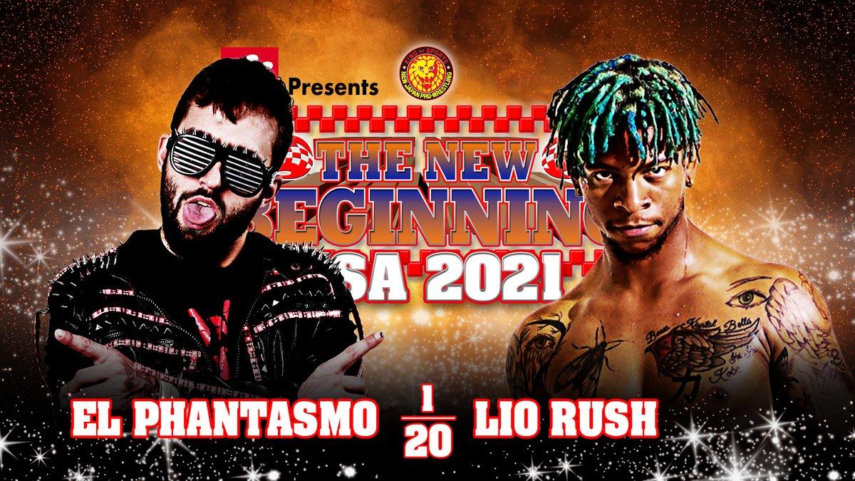 Cobertura: NJPW The New Beginning in USA 2021 – Day 1 – Mortal!