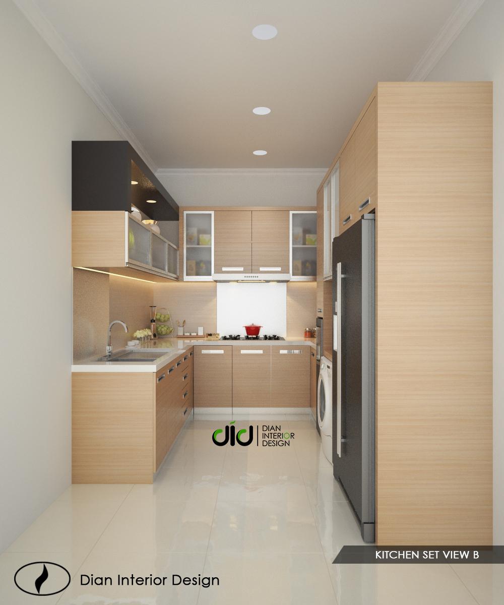 Desiain Dapur Modern Dengan Bentuk U Dian Interior Design