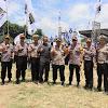 Polres Serang Lakukan Pengamanan Kampanye Capres No. 02 Prabowo - Sandiaga Uno