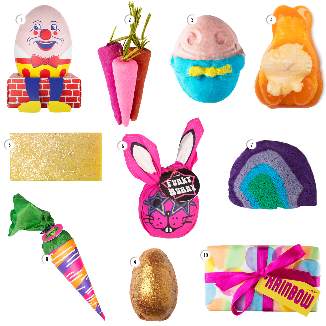 LUSH Easter Collection For 2016