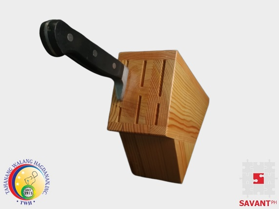 Wood Knife Block Philippines