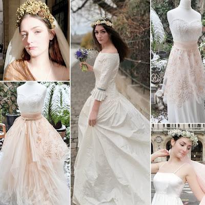 Fééries d'hiver, robes de mariée