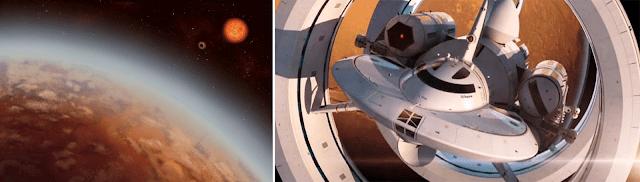 Habitable Alien Planet K2-18 and NASA Interstellar Warp Drive Spaceship