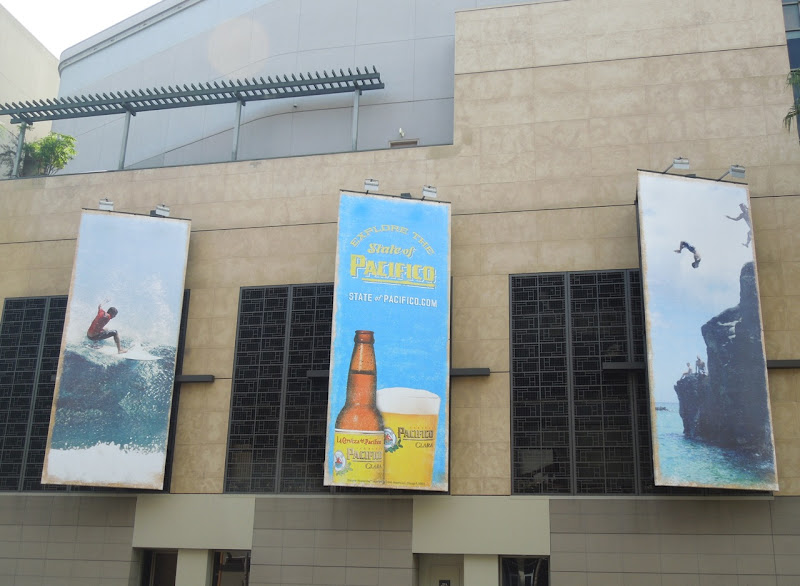 Pacifico Beer billboards