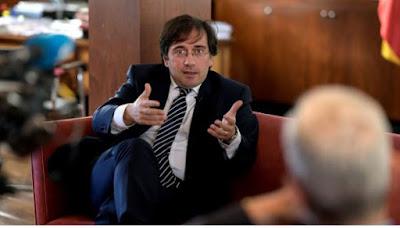 """عاجل...سفير مدريد بفرنسا يتولى وزارة الخارجية الاسبانية خلفا لـ"""" غونزاليس لايا"""""""