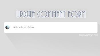 Hướng dẫn nâng cấp và tùy biến khung nhận xét của Blogspot phiên bản mới