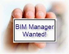 BIM manager wanted!