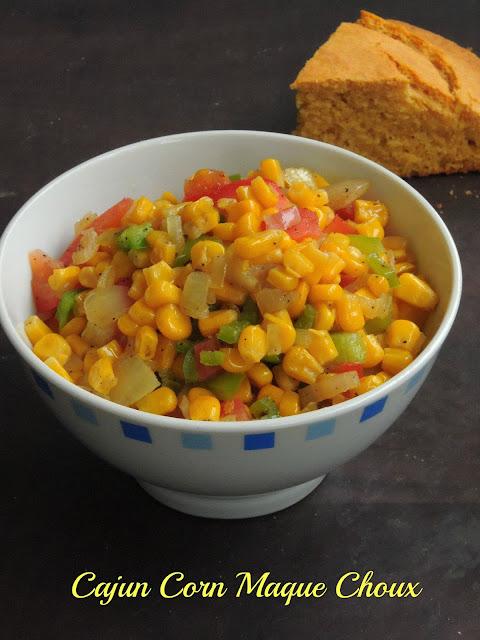 Corn Maque Choux, Cajun Corn