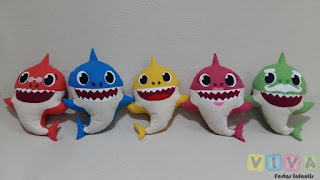 Locação Bonecos Baby Shark Porto Alegre