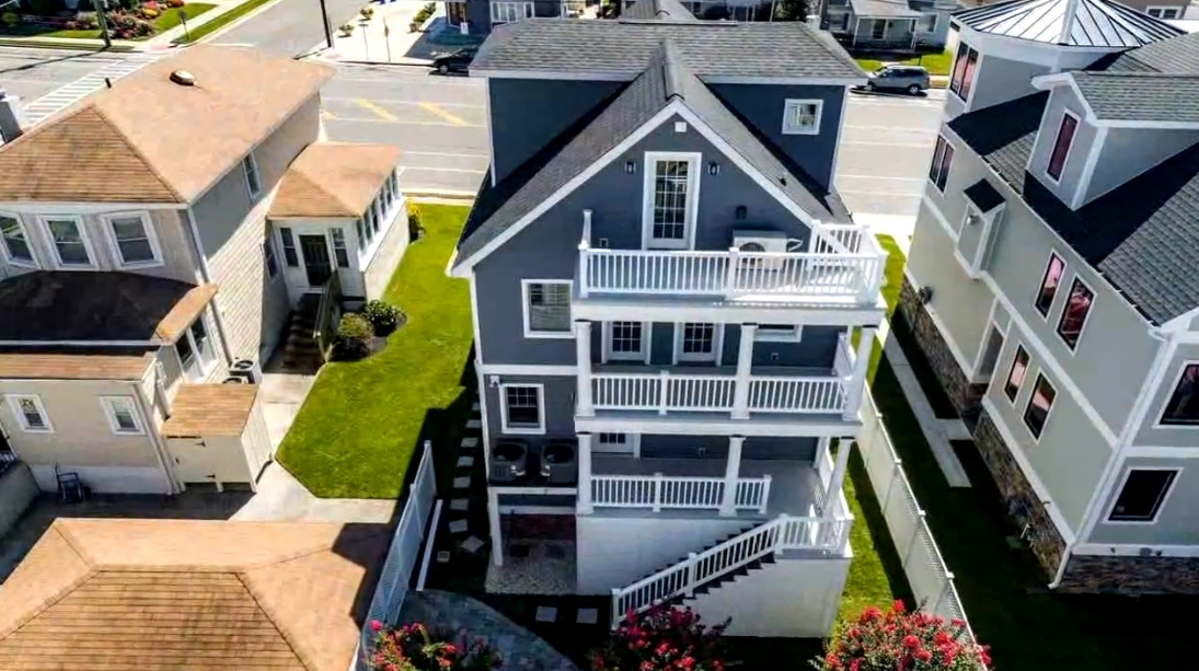 17 Photos vs. 2507 Atlantic Ave, Longport, NJ Interior Design Luxury Home Tour